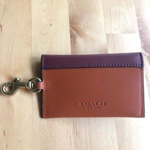 Coach Turnlock Card Case - Brand New! (Brown) 💕